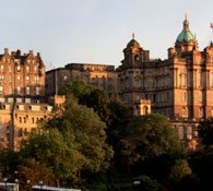 Live property market data for Edinburgh - house prices, price per square foot and rental yields