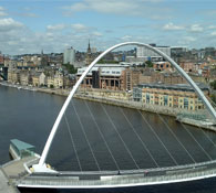 Live property market data for Newcastle - house prices, price per square foot and rental yields