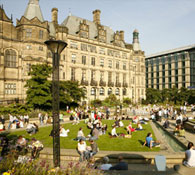 Live property market data for Sheffield - house prices, price per square foot and rental yields