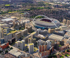 Live property market data for Wembley - house prices, price per square foot and rental yields