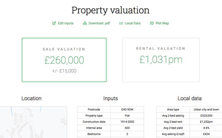 Generate accurate property valuations easily with PropertyData